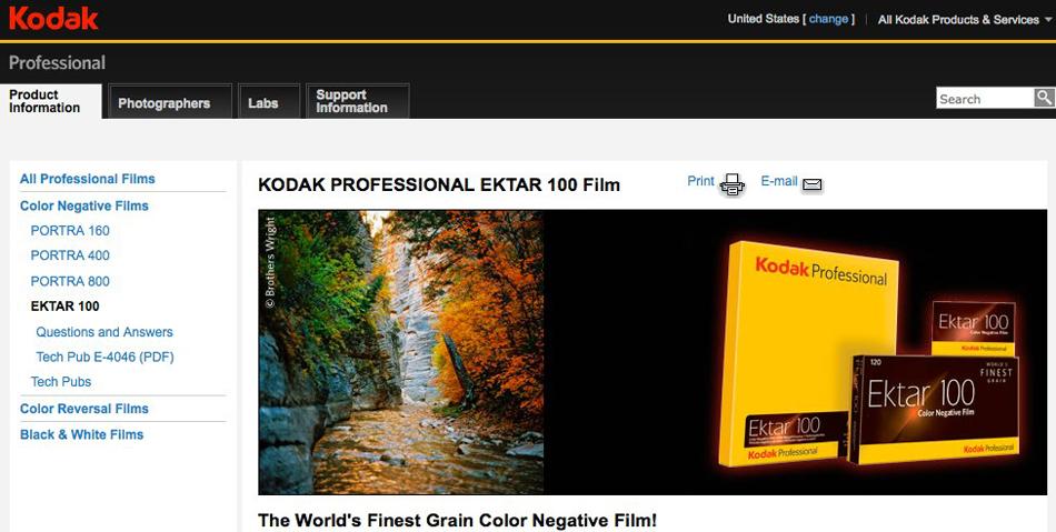 bwright photography and kodak film